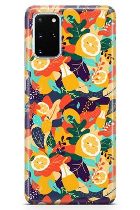 Lopard Samsung Galaxy S20 Plus Kılıf C Vitamini Arka Kapak Koruma Desenli Full Koruyucu 0