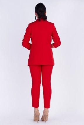 TEORA FASHION Blazer Ceket Pantolon Takım 4