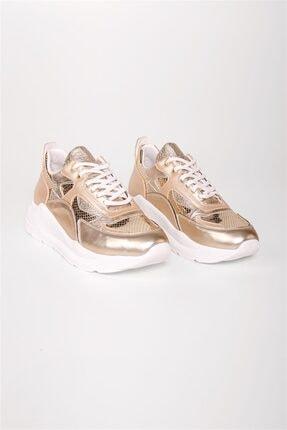 Kadın Altın Spor Ayakkabı SESSO