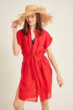 Kadın Pareo Plaj Elbisesi 2015 Kırmızı Tcty20sspro015 TCTY20SSPRO015
