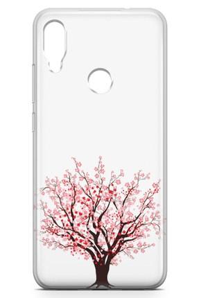Lopard Xiaomi Redmi Note 7 Kılıf Kiraz Tomurcuk Arka Kapak Koruma Desenli Full Koruyucu 1