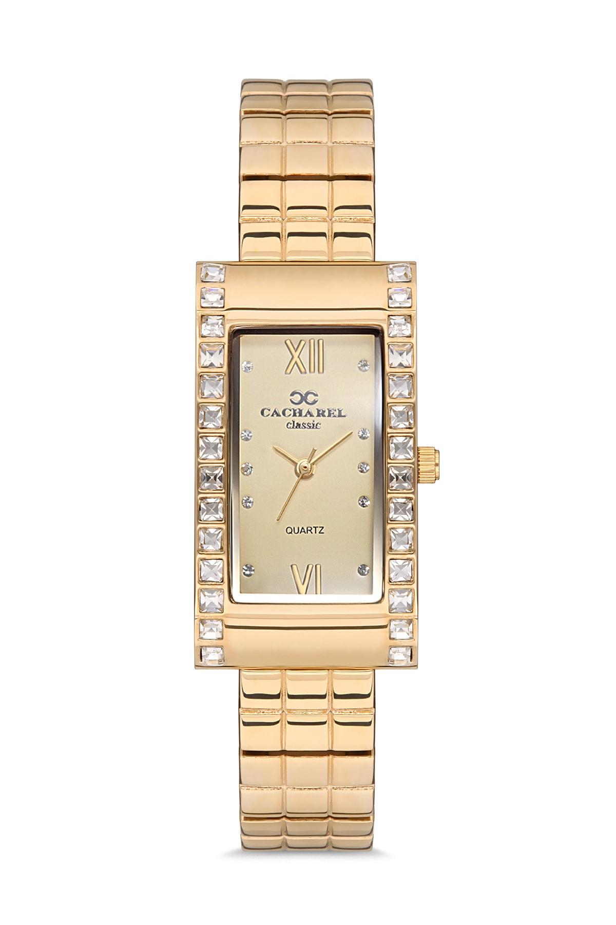 Kadın Altın Classic Kol Saati