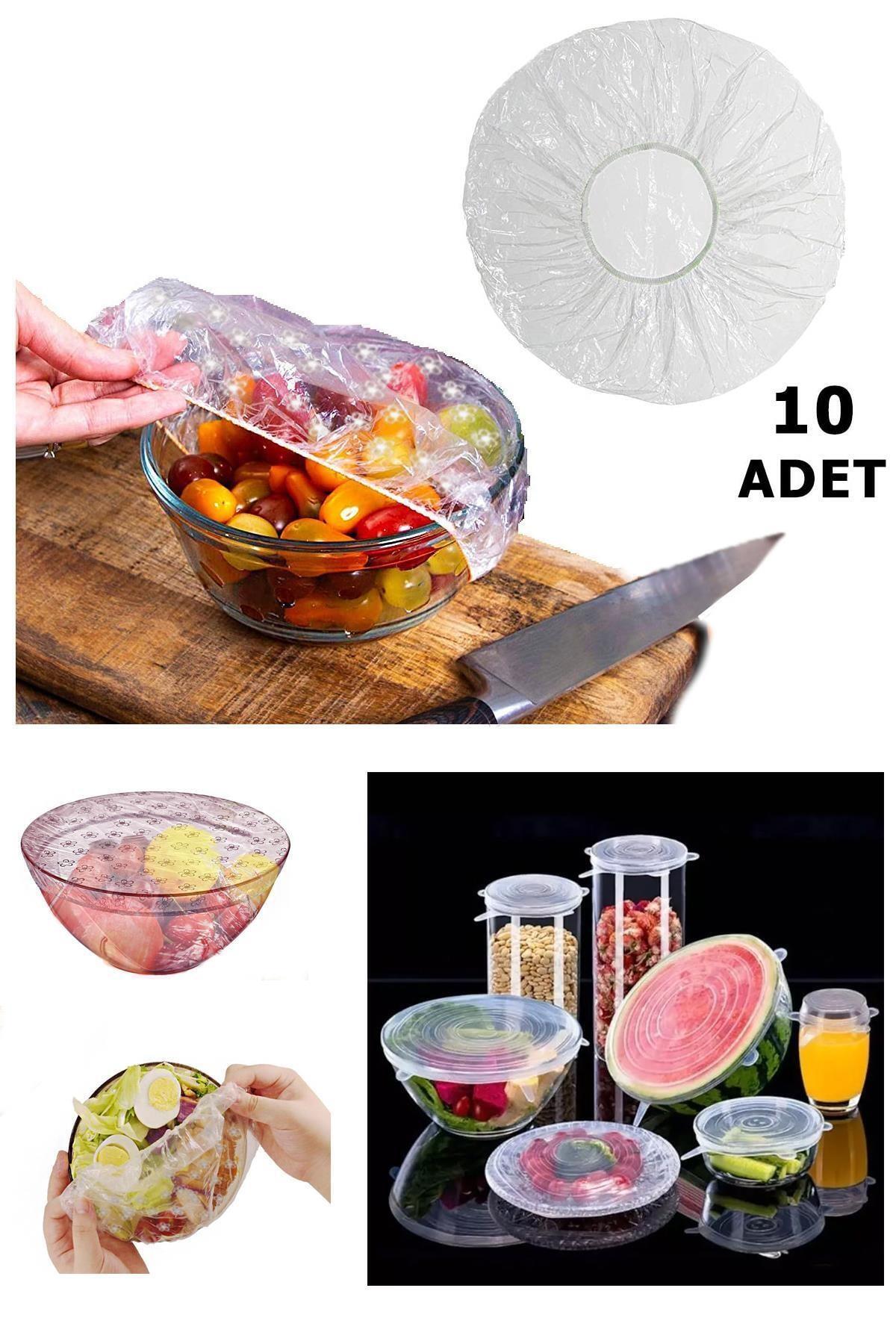 10 Lu Gıda Koruma Ve Saklama Bonesi