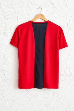 LC Waikiki Erkek Parlak Kırmızı Tişört 0SQ062Z8 1