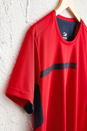LC Waikiki Erkek Parlak Kırmızı Tişört 0SQ062Z8 3