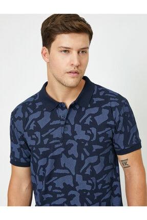 Koton Erkek Lacivert Polo Yaka T-Shirt 0YAM11980LK 0