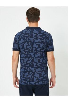 Koton Erkek Lacivert Polo Yaka T-Shirt 0YAM11980LK 3