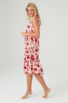 Mod Collection Kadın Lacivert Puanlı Elbise 1