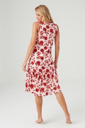 Mod Collection Kadın Lacivert Puanlı Elbise 2