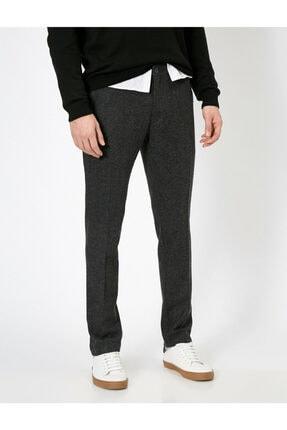 Koton Erkek Gri Cep Detaylı Pantolon 2
