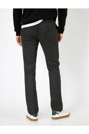 Koton Erkek Gri Cep Detaylı Pantolon 3