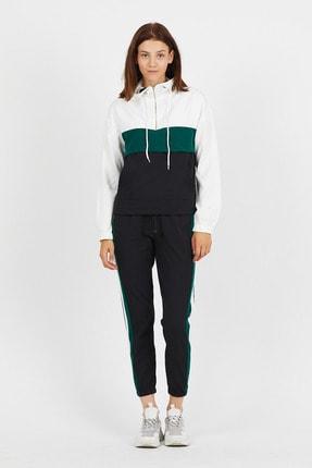 Koza Butik Zara Yeşil Garnili Fermuarlı Eşofman Takımı 0