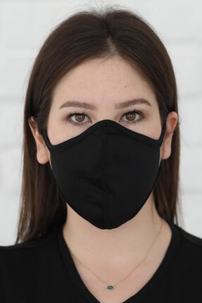 Savana Siyah Yıkanabilir Maske 0