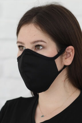 Savana Siyah Yıkanabilir Maske 1