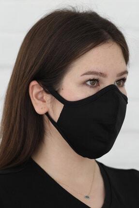 Savana Siyah Yıkanabilir Maske 2
