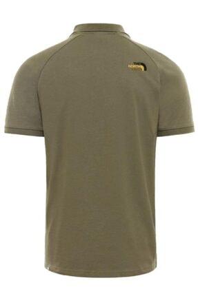The North Face Raglan Jersey Polo Erkek T-shirt Yeşil 1