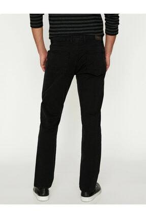 Koton Erkek Siyah Pantolon 9KAM41964LW 3