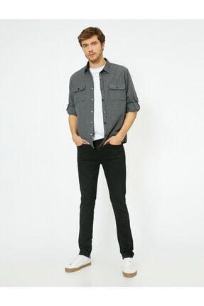 Koton Erkek Siyah Skinny Fit Jean Pantolon 1