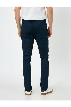 Koton Erkek Lacivert Cep Detayli Pantolon 0YAM42505BW 3