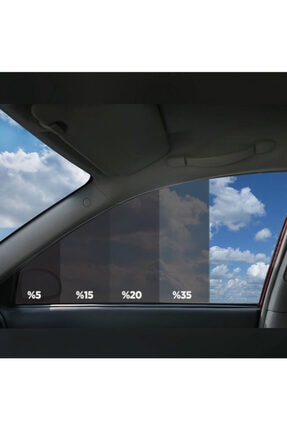 DARK PLUS % 35 Siyah Açık Ton Cam Filmi 50cm X 6m 1