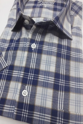 ASWEL Erkek Kısa Kol Cepli Gömlek 1