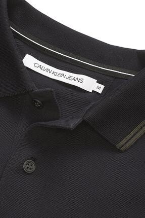 Calvin Klein Erkek Siyah Polo Yaka T-shirt J30j314565 2