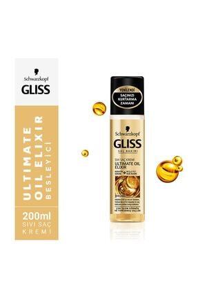 Gliss Ultimate Oil Elixir Sıvı Saç Kremi 200 ml 2