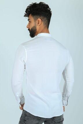 JİYAN Erkek Beyaz Gömlek 2