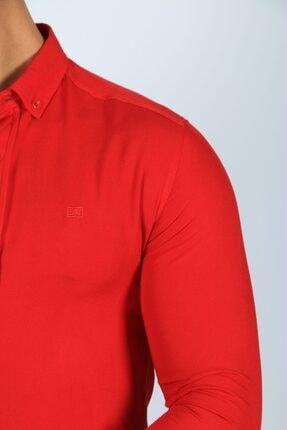 JİYAN Erkek Kırmızı Gömlek 1