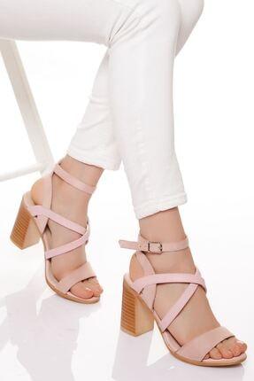 derithy -klasik Topuklu Ayakkabı-pudra 0