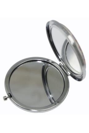 OTANTİK ÇİNİ Çamaşır Ipinde Cezalı Kedi Çanta Aynası 7x7 Cm Dir. 1
