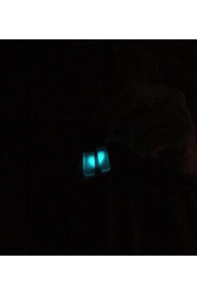 Atelier8 Karanlıkta Işık Veren Sevgili Çift Kalp Kolye 3