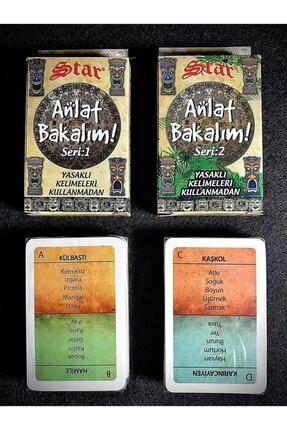 Brother Toys Uno Unox Tlip Anlat Bakalım Seri1 ve Anlat Bakalım Seri-2 Aile Oyun Kartları Seti 3
