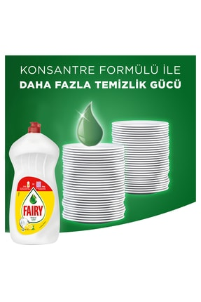 Fairy 3x1500 Ml Sıvı Bulaşık Deterjanı Limon 2