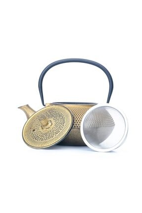 Beta Tea Ba3009 Demir Döküm Demlik Gold 700 Ml 0