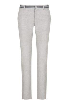 Avva Yandan Cepli Mikro Desenli Slim Fit Pantolon 0