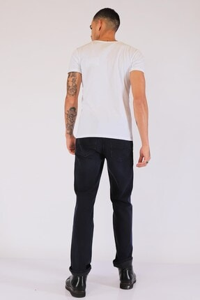 Twister Erkek Lacivert  Yüksek Bel Kot Pantolon 3