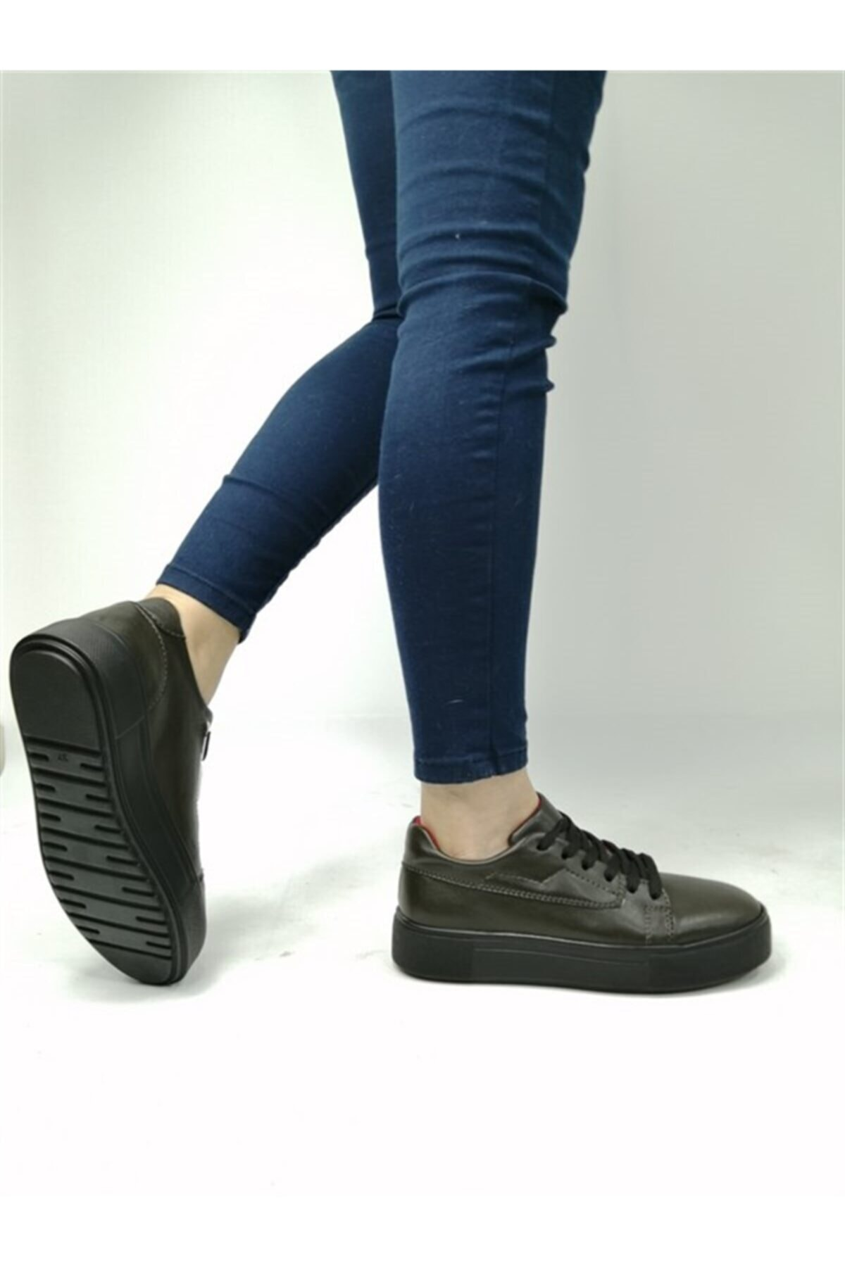 BALLERINS BALLERIN'S Kadın Haki El Yapımı Ayakkabı Xdblrs-hy5585