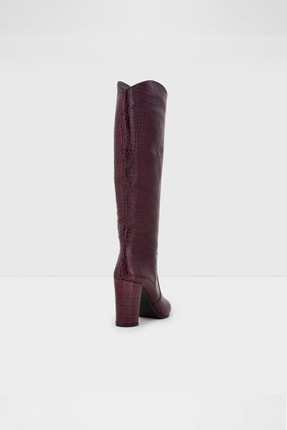 Aldo Kadın  Bordo  Topuklu Çizme Havısa-tr - 2