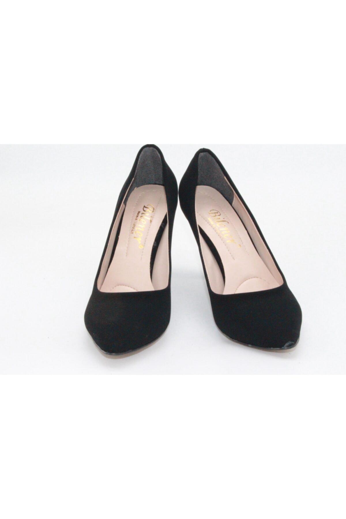 BİLENER Kadın Siyah Topuklu Ayakkabı 4413-c T