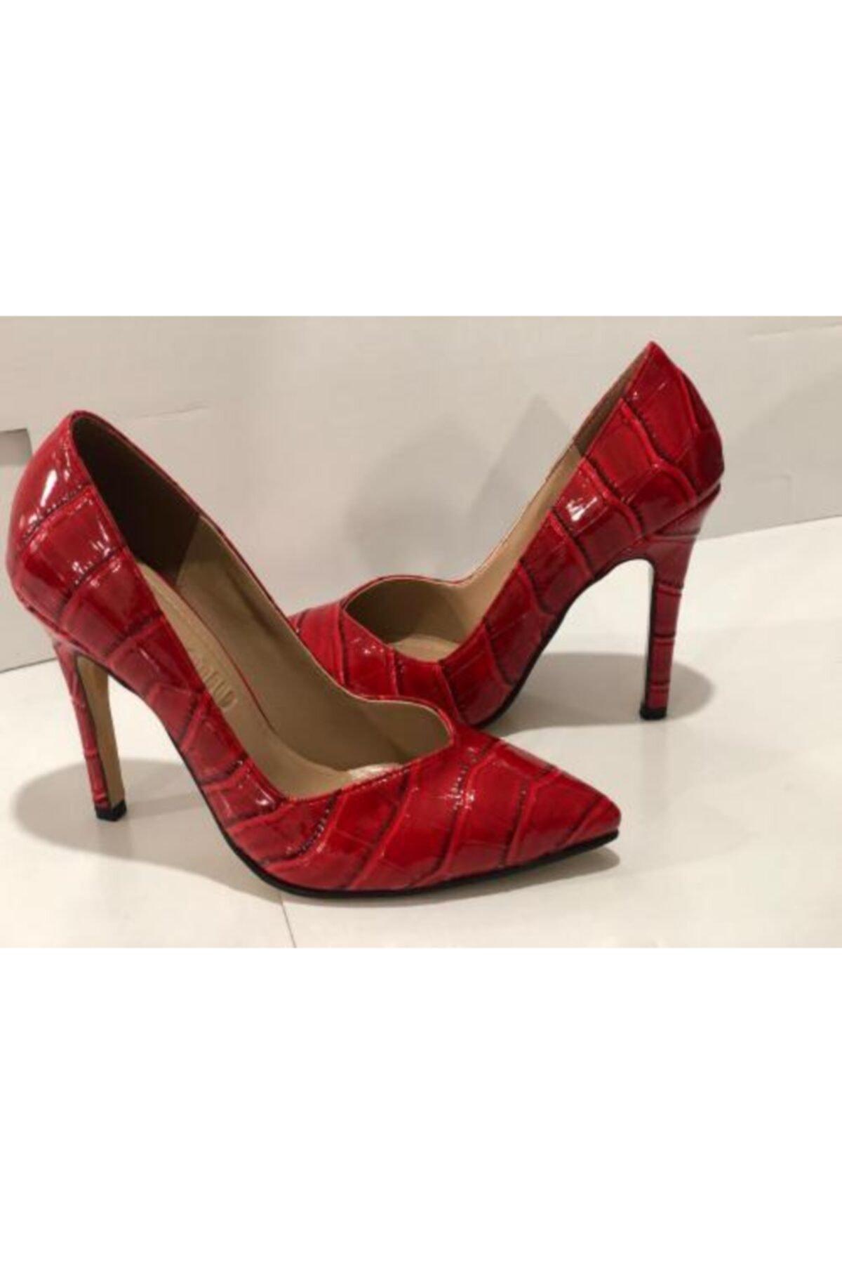 Trendy ayakkabı Kadın Kırmızı Yüksek Topuklu Stiletto