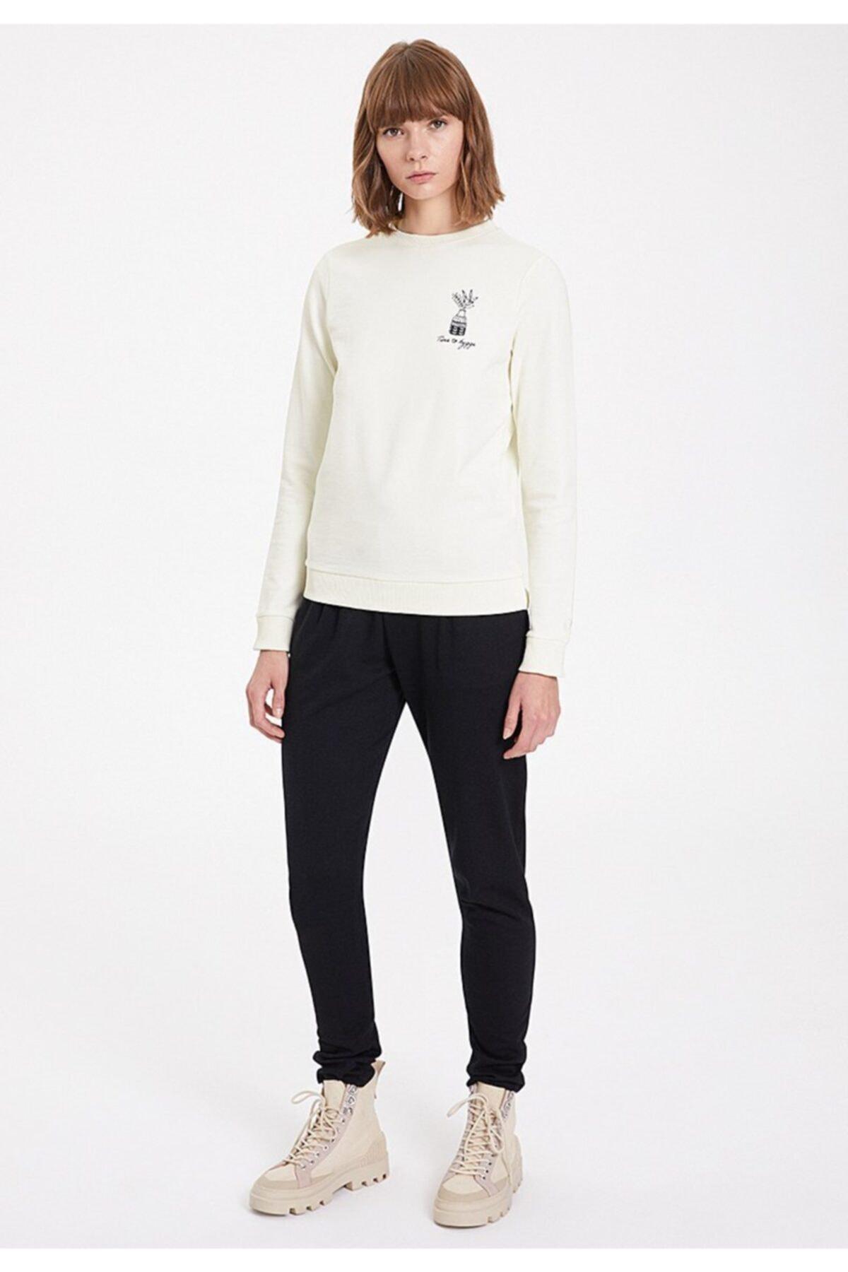 WESTMARK LONDON Kadın Ekru Hygge Sweatshirt