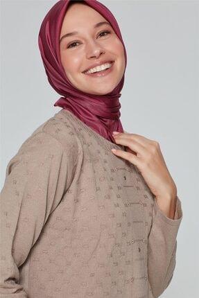 Armine Kadın Vizon Triko Kazak  9k9003 2