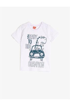 Beyaz Erkek Bebek T-Shirt resmi