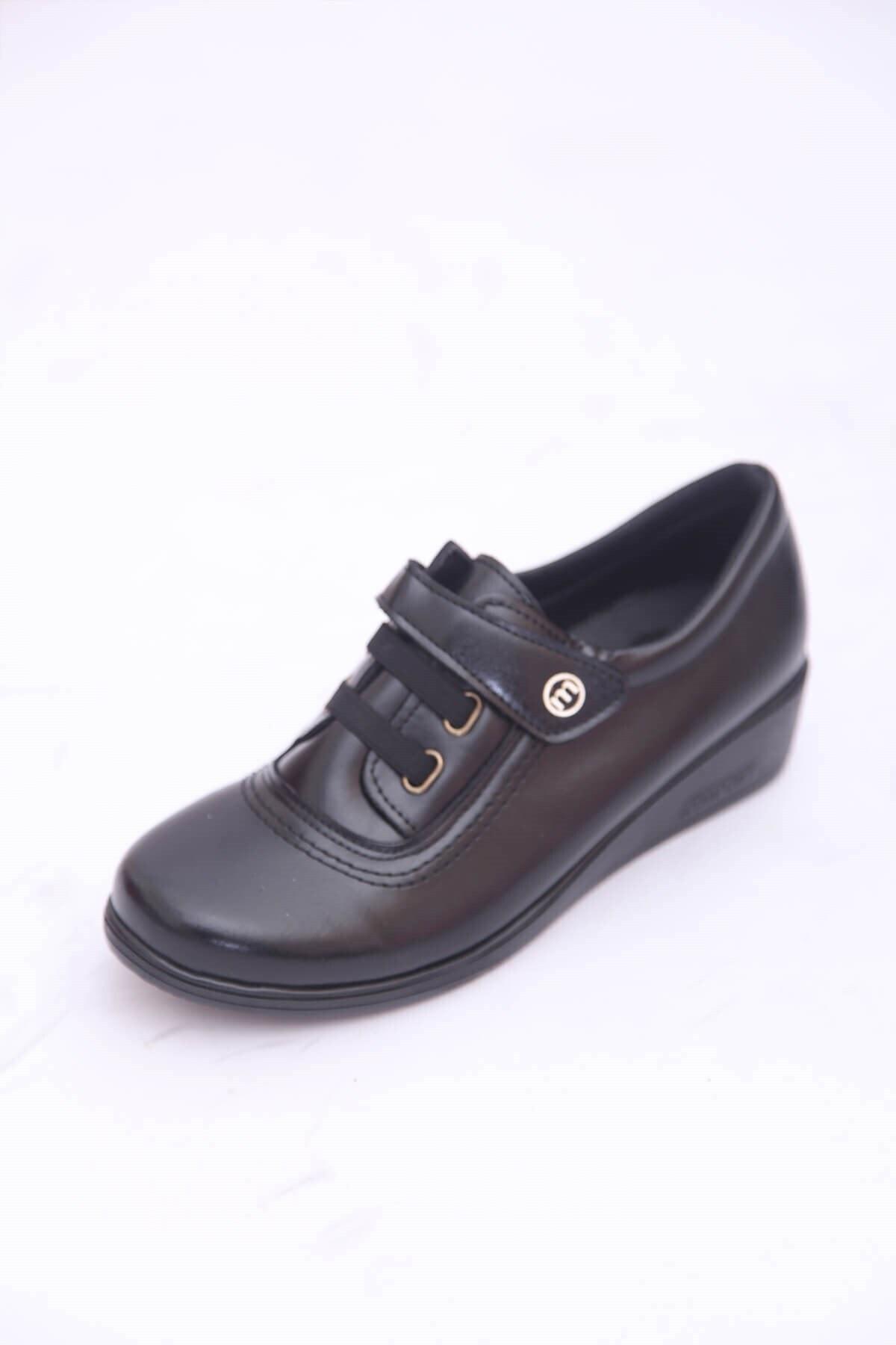 Matilla Kadın Siyah Conforcity Yürüyüş Ayakkabısı