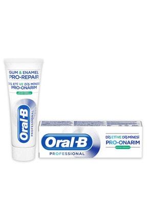 Oral-B Professional 75 ml Diş Eti ve Diş Minesi Pro Onarım Ekstra Ferahlık Diş Macunu 0