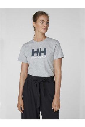 Helly Hansen Kadın Gri T-Shirt 1