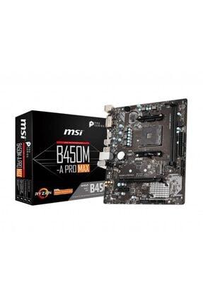 MSI B450m-a Pro Max Ddr4 4133mhz (oc) Am4 Micro Atx Anakart 0