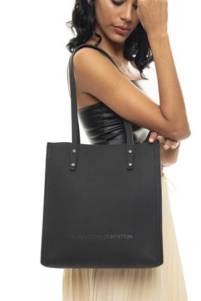 Benetton Siyah Kadın Omuz Çantası BNT354 0