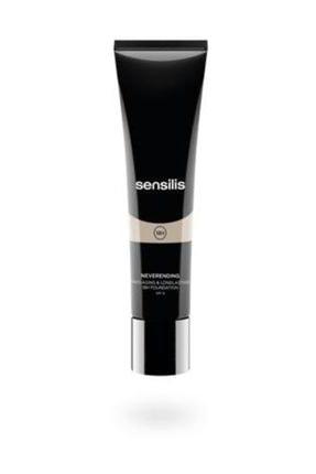 sensilis Fondöten - Neverendıng Antiaging Longlasting Foundation Spf15 Colour 04 - Sand 0